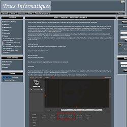 Trucs informatiques - Video - Jahshaka : découvrir l'interface
