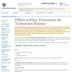 Technicien Réseau : formation métier en maintenance réseaux informatiques - globalknowledge.fr