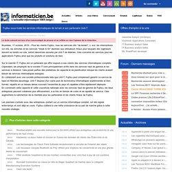 Fujitsu sous-traite les services informatiques de terrain à son partenaire Unit-T - Press Releases