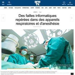 Des failles informatiques repérées dans des appareils respiratoires et d'anesthésie