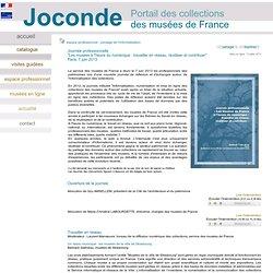"""""""Les musées à l'heure du numérique : travailler en réseau, réutiliser et contribuer""""Paris, 7 juin 2013"""