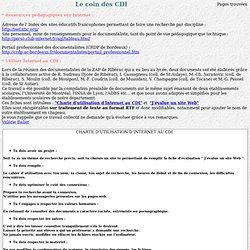 Informatisation des CDI