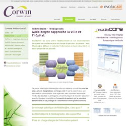 Middlecare - Informatiser le réseau ville-hôpital - Télémédecine