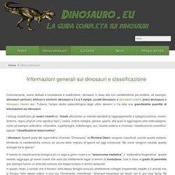 Informazioni dinosauri