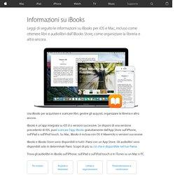Informazioni su iBooks - Supporto Apple