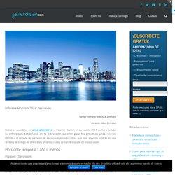 Informe Horizon 2014: resumen