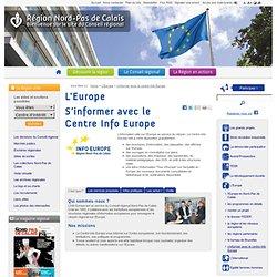 S'informer avec le Centre Info Europe