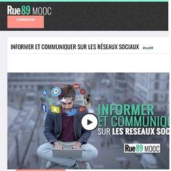 Informer et communiquer sur les réseaux sociaux