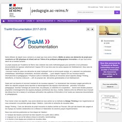 S'informer Documentation lycée - TraAM Documentation 2017-2018