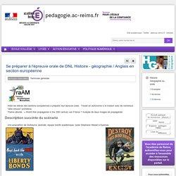 S'informer : Histoire Géographie lycée - Se préparer à l'épreuve orale de DNL Histoire - géographie / Anglais en section européenne