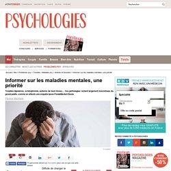 Informer sur les maladies mentales, une priorité