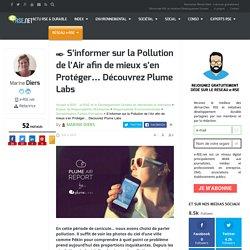 Plume Labs : S'informer sur la pollution et mieux s'en protéger