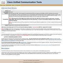 Informix ODBC Drivers