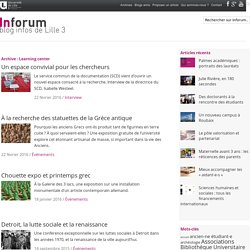 Inforum, le blog infos de Lille3 – Learning center