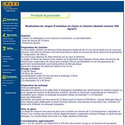 Infos - Produits & procédés