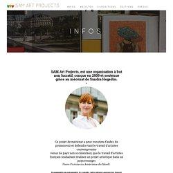 INFOS · SAM Art Projects