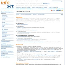 Infoset - Cyberaddiction