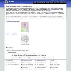 Infosheets - suso.com