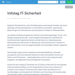 Infotag IT-Sicherheit