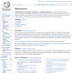 Infotainment - Wikipedia