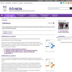 Infothèque - Littérature