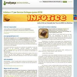 Infotice n°7 - Mahara