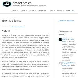 INFP - L'idéaliste