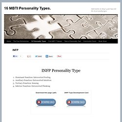 INFP MBTI Personality Type Profile