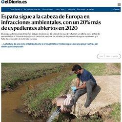 España sigue a la cabeza de Europa en infracciones ambientales, con un 20% más de expedientes abiertos en 2020