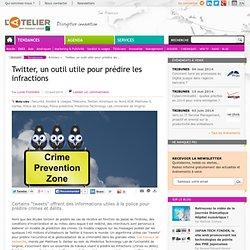 Twitter, un outil utile pour prédire les infractions