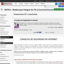 MITICA - Modelo para Integrar las TIC al Curr culo Escolar > Infraestructura TIC > Conectividad