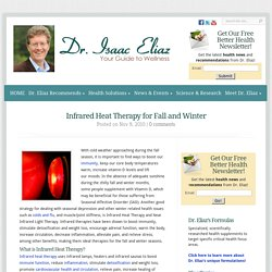 Infrared Heat Therapy for Fall and Winter