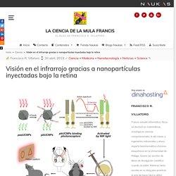 Visión en el infrarrojo gracias a nanopartículas inyectadas bajo la retina - La Ciencia de la Mula Francis