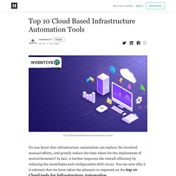 Top 10 Cloud Based Infrastructure Automation Tools