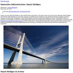 Innovative Infrastructure: Smart Bridges