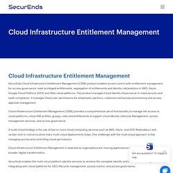 Cloud Infrastructure Entitlement Management (CIEM)