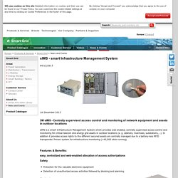 News and Events sIMS - smart Infrastructure Management System - 3M Smart Grid - 3M Europe