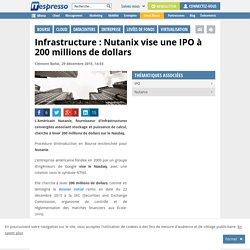 Infrastructure : Nutanix vise une IPO à 200 millions de dollars