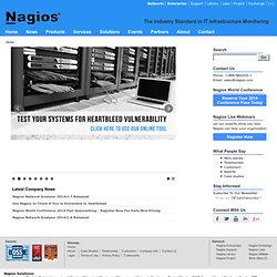 Nagios - The Industry Standard in IT Infrastructure Monitoring