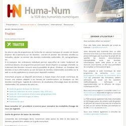 Huma-Num : l'infrastructure des humanités numériques