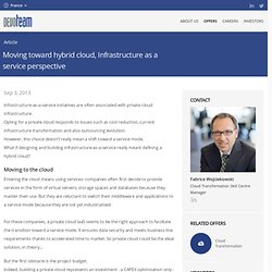Group - Moving toward hybrid cloud, Infrastructure as a service perspective (France)