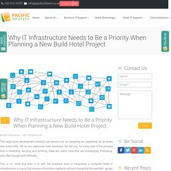 Why IT Infrastructure Needs to Be a Priority When Planning a New Build Hotel Project
