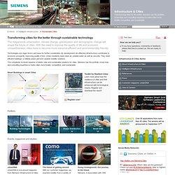 Infrastructure & Cities - Sustainable Cities - Siemens