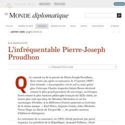 L'infréquentable Pierre-Joseph Proudhon, par Edward Castleton