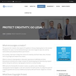 What is Copyright Infringement, Benefits of Reprographic Licence – IRRO