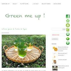 Infusion glacée de feuilles de figuier - Green me up ! - Cuisine bio végétale, écologie du quotidien