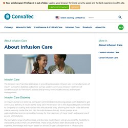 Convatec About Infusion Care