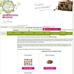 Herboristerie Moderne