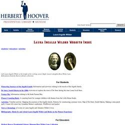 Laura Ingalls Wilder - Hoover Presidential Museum
