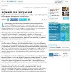 Ingeniería para la impunidad - 26.04.2015